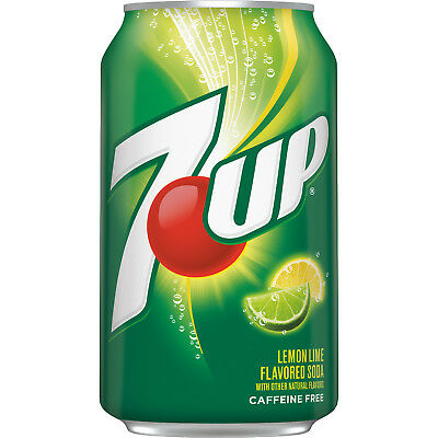 New 7Up Lemon-Lime Soda 12 Fl Oz Can Free Worldwide Shipping