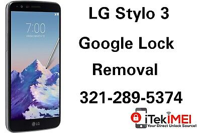 LG STYLO 3 Google Account Removal Bypass/Unlock, Reset FRP ☆Remotely☆