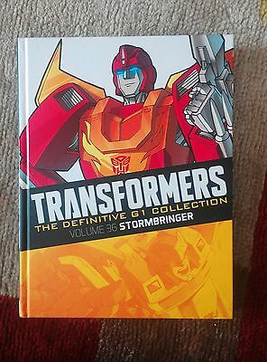 TRANSFORMERS Definitive G1 Collection #2 Vol 36 Stormbringer pre-release edition