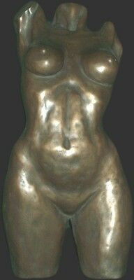 Female Torsco Statue Bronze finish