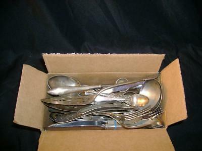7+ Pounds Of Assorted Silver Pieces !!! Serving, Dining, Other......