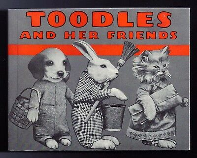 TOODLES AND HER FRIENDS - Dress Up Kittens, Puppies, Bunnies - PB Book - NICE !!