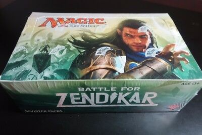 MTG Magic the Gathering Battle for Zendikar Sealed Booster Pack Box