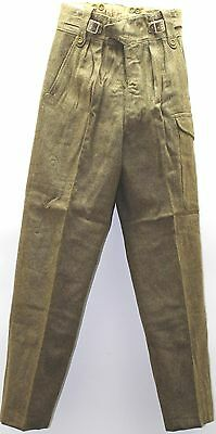 British wool P49 Battledress Pants Trousers size 10 w31 to 32 L32 lot of 10 pair