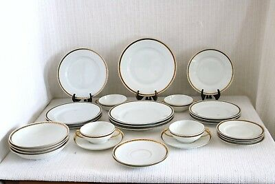 Carlsbad China CAR7 Maria Theresia Czechoslovakia MZ Altrohlau CM-R 28 Pcs