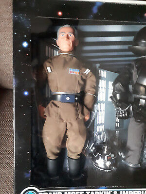 "Star Wars Collector Series Gran Moff Tarkin Imperial Gunner 12"" with Diorama"