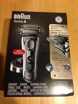 NEWEST  latest authentic and sealed  braun wet/dry  9293  shaver
