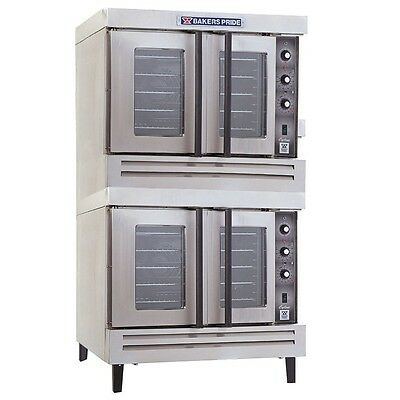 Cyclone Convection Oven, full-size, gas, double deck, Bakers Pride BCO-G2
