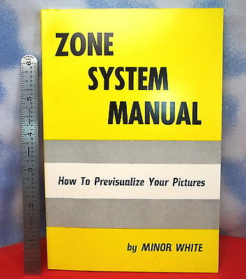 First 1961 Edition ZONE SYSTEM MANUAL Minor White. Unused? Ansel Adams Friend j5