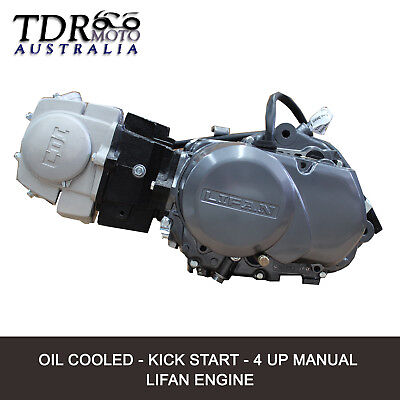 Lifan 140CC Engine Motor Oil Cooled for Pitpro Thumpstar Atomik Dirt Pit Trail
