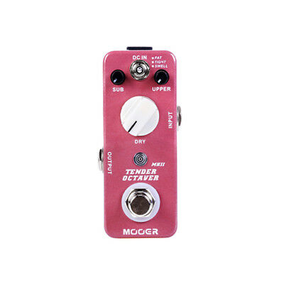 Mooer Tender Octaver MKII Guitar Effects Pedal! NEW!