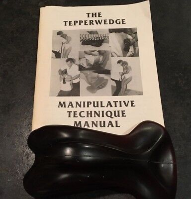 Chiropractic Adjusting Tool: The Tepperwedge