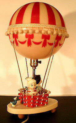 Wonderful Hot Air Balloon Table Lamp & Night Light The Dolly Toy Company