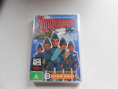 Thunderbirds-The Complete Series-8 Dvd Set-Brand New-Over 24 Hours Of Viewing