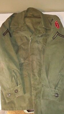 Post WW2 WWII US American M43 Combat Jacket Norwegian made