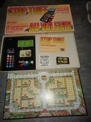 Stop Thief Game by Parker Bros. 1979 - Complete
