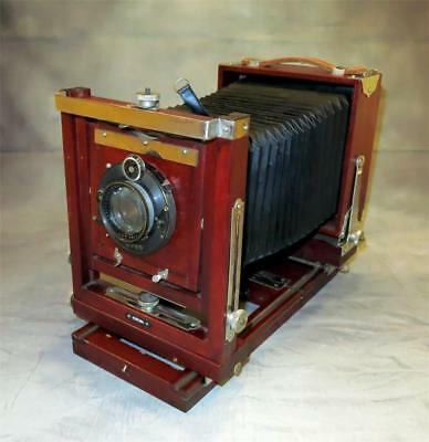 Korona Gundlach 4X5 View Camera 180Mm F-4.5 Goerz Berlin Dogmar Lens,ship Global