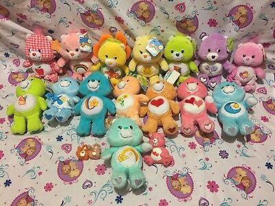 Huge Care Bears Lot of 15 Care Bears Mixed Lot Special Edition 2003 w/ Tags Bear