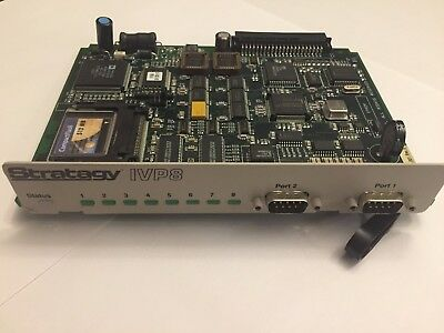 TOSHIBA, CTX, DK, STRATAGY IVP8 8 PORT VOICE MAIL, TESTED & DEFAULTED with WRTY