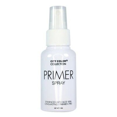 City Color Face Primer Spray Enhanced with Aloe Vera Long lasting