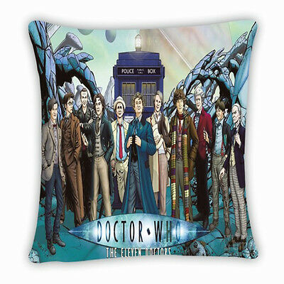 Doctor Who Cushion Pillow Case DW Pillowcases New Pillow Cover No.5