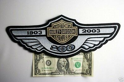 harley davidson 100th anniversary Gold Wing Patch