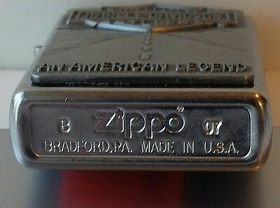 ZIPPO HARLEY DAVIDSON AN AMERICAN LEGEND EMBLEM 2007 10 years old In Tin Box