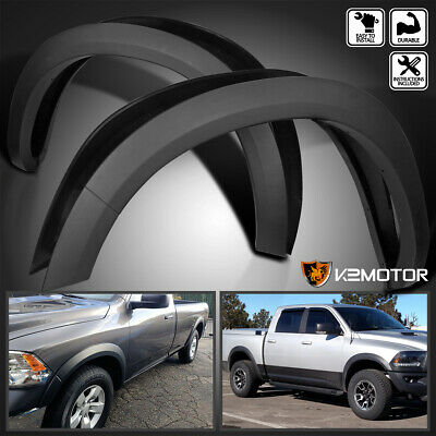 2009-2017 Dodge Ram 1500 Smooth Factory Style Replacement Bolt On Fender Flares