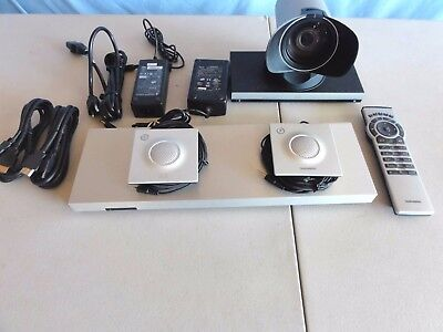 Cisco/Tandberg  C20 TTC7-18 Video Conference System W/Mice. Complete /Tested