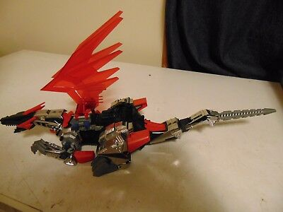 Zoids Tomy  Dinosaur  Motors Good Works But Sold For Parts