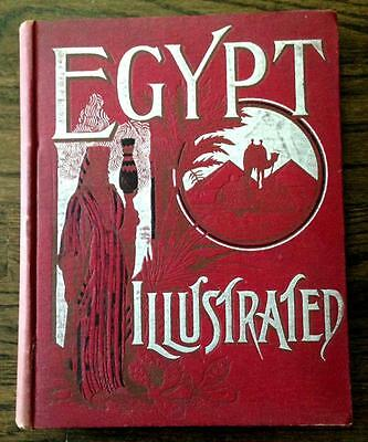 1891 Antique Ancient Egypt Egyptians Mummies Pyramids Islam Temples Middle East