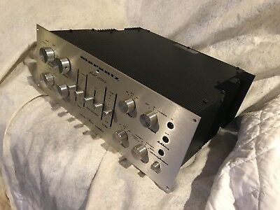Marantz Model 1200b Stereo Console Amplifier.serviced And Ready To Play
