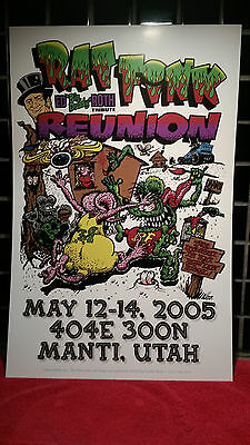 2005  Rat Fink Reunion Poster  3Rd Annual-- Ed Big Daddy Roth Memorial