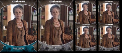 Topps The Walking Dead Card Trader TRAGEDIES CAROL Blue & Gray 5x *Digital*