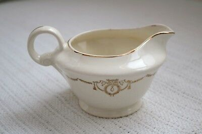 "Edwin M Knowles China Co - ADAMS - U.S.A. Semi Vitreous - 3 1/2""h - Creamer"