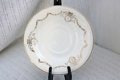 "Edwin M Knowles China Co- ADAMS - U.S.A. Semi Vitreous - 6"" Saucer"