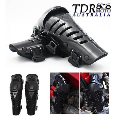 1 Pair Ergonomic Off-Rd Motorcycle Racing Motocross Knee Pads Protector Guards