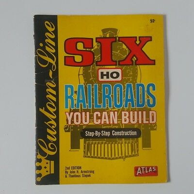 Six HO Railroads You Can Build - Fantastic Book from 1971