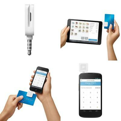 Universal Credit Card Reader Square Swiper for Smartphone Tablet iOS Android NEW
