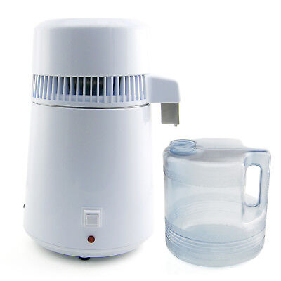 Effective Pure Water Distiller w/ Stainless Steel Internal Filter Large 4L New