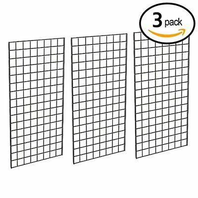 Grid Panel for Retail Display – Perfect Metal Grid for Any Retail Display, 2'...