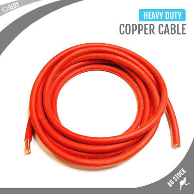 Heavy Duty 16mm² Jumper Leads Cable Long Jump Car Booster Copper Cables 1m-100m