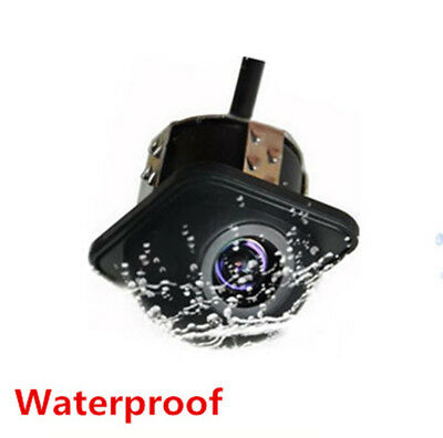 Car Rear Side Front Mirror 170° View CCD Front Backup Parking Reversing Camera