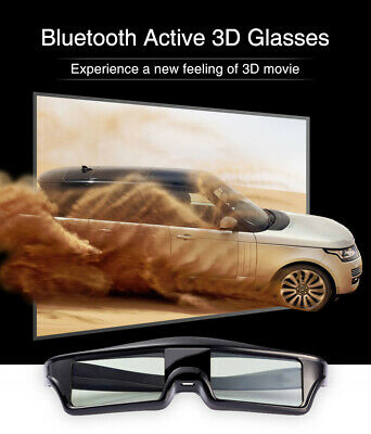 9c89a23907d 3D Bluetooth Active Shutter Glasses for Epson Sony Samsung Panasonic 3D TV  USB
