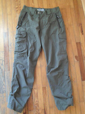 norwegian army ECWCS level 5 soft shell bergans of norway pants trousers od 33 M