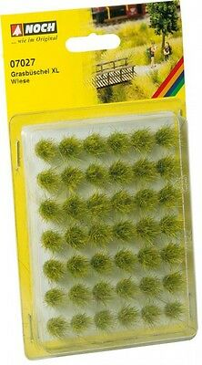 NOCH HO GRASS TUFTS -  GREEN, X-LARGE # 07027 suit model train
