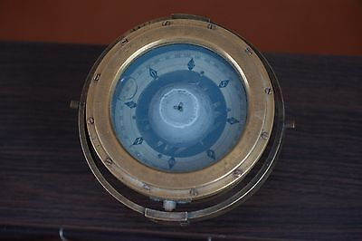 Marine Ship compass vintage collectible - the subject of Russian antiquity fleet