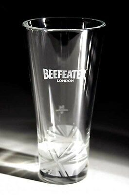 Beefeater Gin Tall Hi Ball Heavy Glass - New - Free Uk Postage