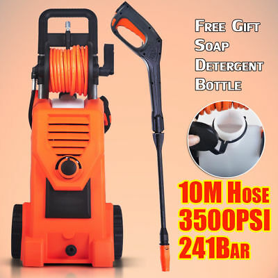 3500PSI Electric High Pressure Car Patio Washer Water Cleaner Spray Pump Hose AU