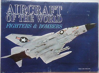 RARE SUNSHINE JELLIES - AIRCRAFT OF THE WORLD - FIGHTERS & BOMBERS 1970s cards